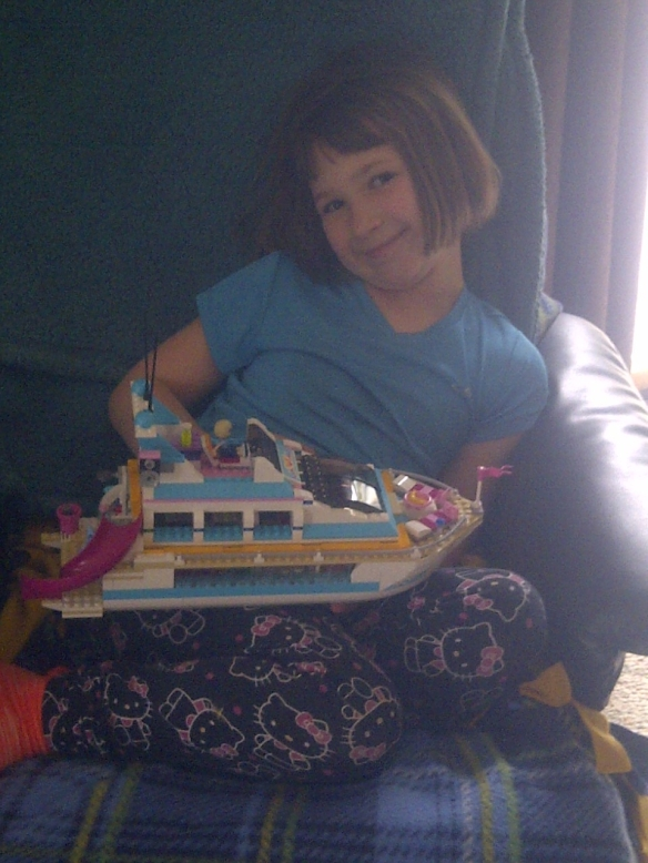 boat lego